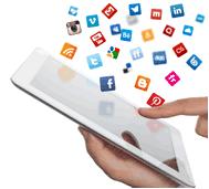 Socail Media iPad
